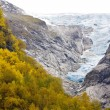 Landscape near Melkevollbreen Glacier, Jostedalsbreen National P — Stock Photo #31085889