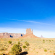 The Mitten, Monument Valley National Park, Utah-Arizona, USA — Stock Photo
