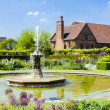Garden of Hatfield House, Hertfordshire, England — Stock Photo