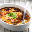 Baked Mexicmixture with mozzarella — Stock Photo #31087441