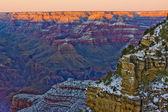 Grand Canyon National Park in winter, Arizona, USA — Stock Photo