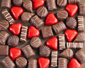Choklad godis — Stockfoto