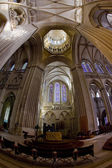 Interior of Cathedral Notre Dame, Coutances, Normandy, France — Stock Photo