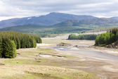 Landscape near Loch Laggan, Highlands, Scotland — Stock Photo