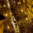 Parizska Street at Christmas time, Prague, Czech Republic — Stock Photo