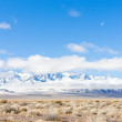 Winter mountains in Nevada, USA — Stock Photo