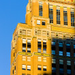 Detail of building at Manhattan, New York City, USA — Stock Photo