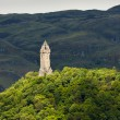 William Wallace Monument, Stirling, Scotland — Stock Photo