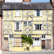 maison à colombages, ludlow, shropshire, Angleterre — Photo