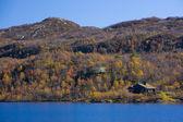 Mountain range near Urdvassheii Peak, Norway — Stock Photo