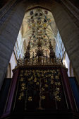 Interior of Cathedral of St. Barbara, Kutna Hora, Czech Republic — Stockfoto