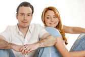 Couple''s portrait — Stock Photo