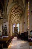 Interior of Church of St. Nicholas, Presov, Slovakia — Stock Photo