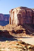 Elephant Butte, Monument Valley National Park, Utah-Arizona, USA — Stock Photo