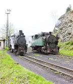 Steam locomotives, Oskova, Bosnia and Hercegovina — Stock Photo
