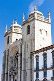 Cathedral (Se), Porto, Portugal — Stock Photo