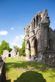 Ruiny opatství dryburgh, skotské hranice, skotsko — Stock fotografie
