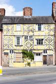 Half timbered house, Ludlow, Shropshire, England — Stock Photo