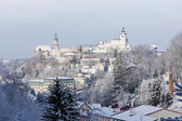 Nove Mesto nad Metuji in winter, Czech Republic — Stock Photo