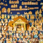 Gingebread crib at Saint Matthew, Prague, Czech Republic — Stock Photo #32588043
