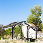 Vincent van Gogh bridge near Arles — Stock Photo