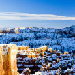 Bryce Canyon National Park in winter — Stock Photo
