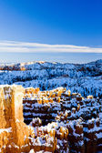 Bryce Canyon National Park in winter — Stock fotografie