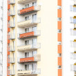 Detail of apartment building — Foto Stock