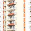 Detail of apartment building — Stock Photo