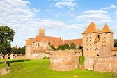 Malbork Castle, Pomerania, Poland — Stock Photo