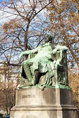 Johann Wolfgang Goethe''s statue, Vienna, Austria — Stock Photo