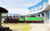 ホームデポ、kostolac、セルビアの蒸気機関車 — ストック写真