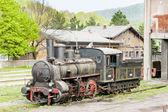 Steam locomotive (126.014), Resavica, Serbia — Stock Photo