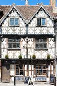 Garrick Inn, Stratford-upon-Avon, Warwickshire, England — Stock Photo