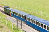 Ravenglass and Eskdale narrow gauge railway, Cumbria, England — Stock Photo