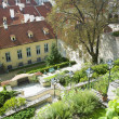 Ledeburska Garden, Prague, Czech Republic — Stock Photo