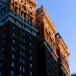 Stock Photo: Detail of building at Manhattan, New York City, USA