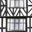 Stock Photo: Half timbered house, Leominster, Herefordshire, England
