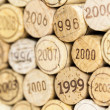 Still life of corks — Stock Photo #37372867