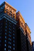 Detail of building at Manhattan, New York City, USA — Stock Photo
