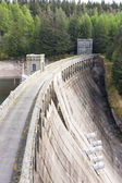 Loch Laggan dam, Highlands, Scotland — Stock Photo