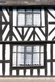 Half timbered house, Leominster, Herefordshire, England — Stock Photo