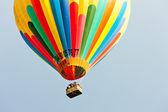 Sıcak hava balonu, provence, fransa — Stok fotoğraf