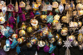 Christmas market at Rathausplatz, Vienna, Austria — Stock Photo