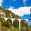 Stock Photo: Landwasserviadukt, canton Graubunden, Switzerland