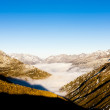 Stock Photo: View from Furkapass, canton Graubunden, Switzerland