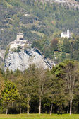 Rhazuns Castle, canton Graubunden, Switzerland — Stock Photo