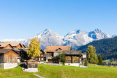 Sodrun, canton Graubunden, Switzerland — Stock Photo