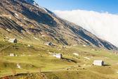 Alps landscape near Andermatt, canton Graubunden, Switzerland — Stock Photo