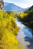 Valley of river Verdon in autumn, Provence, France — Stock Photo